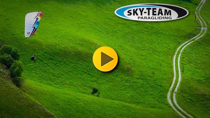 Werbefilm für Gleitschirmflugschulen Skyteam und Hotsport